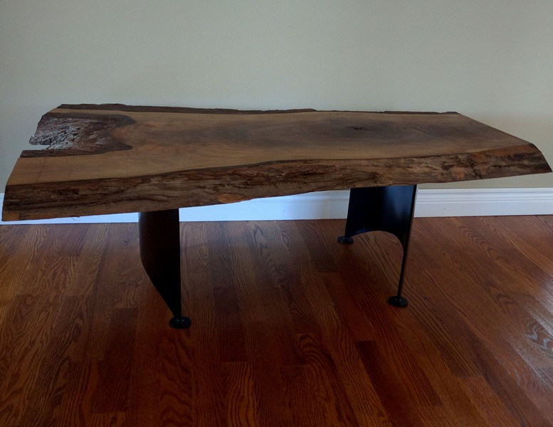 Table made custom, legs and all !
